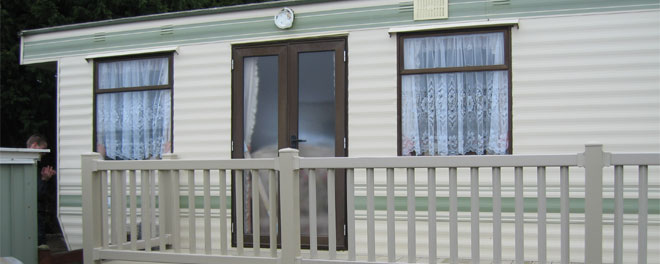 Double Glazed Windows and Doors from SH Caravans